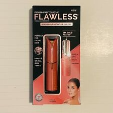 Finishing Touch Flawless Facial Hair Remover - Perfect for Facial Hair - Coral