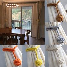 2Pcs curtain rope Ball Curtain Tie backs Holdbacks Curtains & Voiles UK