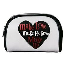 The Bright Side Cosmetic Bag - Make Love, Make Believe, Make-Up Bag