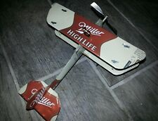 MILLER HIGH LIFE Plane Airplane Made from Beer cans