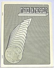 It Goes On The Shelf 10 — October, 1993 — Published by Ned Brooks — Classic zine