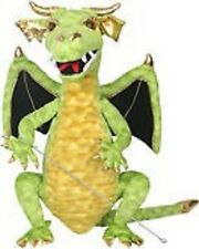 ENCHANTED: GREEN DRAGON 22 inch, NEW by The Puppet Company