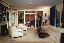 Elvis Presley, The Living Room at Graceland , Memphis, Tennessee --- Postcard