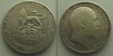 Collectable silver 1908 King Edward VII ... One Shilling coin ....  Lot 1