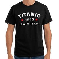 Titanic Swim Team 1912 Sprüche Geschenk Lustig Spaß Comedy Fun Spruch T-Shirt