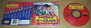Jump Start Adventures 4th Grade PC/Computer Software Knowledge Teach Age 8-10