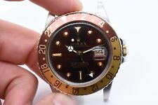 """Rolex GMT Master 16753 """"Root Beer"""" Stainless Steel/Yellow Gold"""