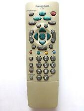 PANASONIC TV REMOTE EUR511243 TX28DT4 TX32DT4 TX32LDX1 TX32DTM1 keys 1-6 faded