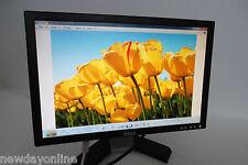 """Dell 19"""" Widescreen Black LCD Monitor VGA DVI 1440x900 5ms 1000:1 MM226 E198WFP"""