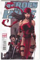 Heroes For Hire 4 B Marvel 2011 NM 1:15 Harvey Tolibao Variant Elektra