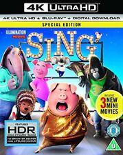 Sing [4K UHD] [2017] [Blu-ray] [DVD][Region 2]