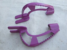 Old School Rear Frame Standers for BMX and Freestyle Bikes, Purple