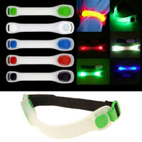 LED Glow Running Armband Night Light 7 Color Safety Belt Arm Strap Cycling RD