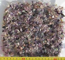 Fluorit, Mini-Trommelsteine, poliert, 400 g.(1 kg = 27,25 EUR)