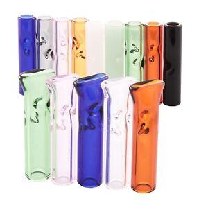 Glass Quartz Roach Tip Filter 1 3 5 Pack Reusable Filters 6mm RAW Rizla paper