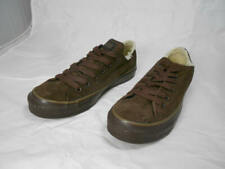 Barely Used Converse All Star  Brown Suede Leather  Shearling Lined Sneaker 7