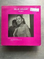 Billie Holiday-Volume ll Vinyl LP