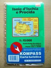 Map of Ischia and Procida