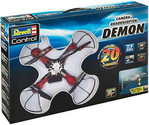 REVELL 23876 Quadrocopter DEMON mit Kamera 20. min Flugzeit 2 Akkus