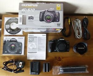 Olympus E-510 10.0MP Digital SLR Camera - Black (Kit w/ 14-42mm Lens) VGC