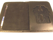 Paterson Police (NJ) Detective Badge Shield/ID Book Wallet (Badge Not Included)