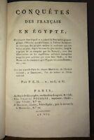 CONQUÊTE DES FRANÇAIS EN ÉGYPTE.EXPÉDITION DE SYRIE. AN VII (1799). Edition Or.