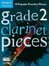Categoria 2 Clarinetto Pezzi Impara a giocare grafico HITS MUSICA Exam BOOK & Download Card