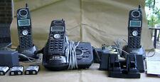 Panasonic KX-TG5633B Cordless Phone Answering System with 3 Handsets