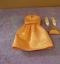 Franklin Mint Jackie Kennedy Vinyl Doll Peach Dress Purse/Shoes/Earrings