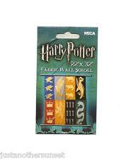 Harry Potter Banner Fabric Wall Scroll Hogwarts Crests Gryffindor Slytherin etc