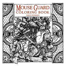 MOUSE GUARD ADULT COLORING BOOK David Peterson Archaia Comics SC