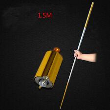 150CM Length Golden Silver Cudgel Metal Appearing Cane Magic Tricks Professional