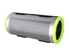BRAVEN Stryde 360 Degree Bluetooth Speaker - Silver/Green