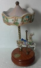 1989 Willitts Designs 1 horse Carousel Romance music box As Time Goes By working