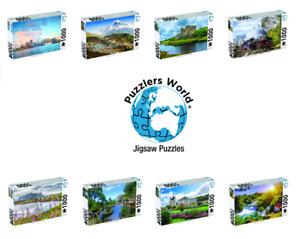 1000 Piece Jigsaw Puzzle 70cm x 50cm Puzzlers World Famous Landmarks Design NEW