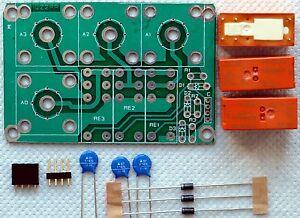 Ham Amateur Radio Remote antenna switch DIY KIT up to 3 antennas SO-239 / N type
