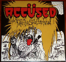 Accused / The Accüsed - Return Of Martha LP Earache Cvr - New Black Vinyl (2014)