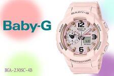 BGA-230SC-4B  White Baby-G Ladies Watches Resin Band New
