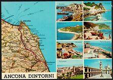 AA2154 Ancona e dintorni - Vedutine - Carta automobilistica