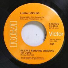 Soul 45 Linda Hopkins - Please Send Me Someone To Love / Shake A Hand On Rca