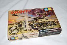1963 Tamiya Mokei US Army T92 Destroyer 1/55 Model kit sealed parts + motor