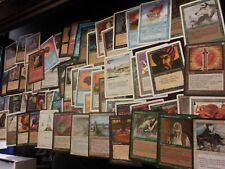 100+ OLD MAGIC CARDS BULK LOT, 1994-2003 SETS ONLY, STORE LIQUIDATION  mtg