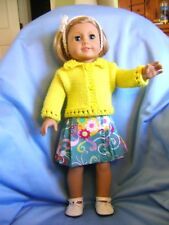 Doll clothes/ HANDMADE Skirt/Sweater Set /Fits American Girl Dolls