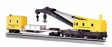 Bachmann 16114 250-ton Steam Crane and Boom Tender Penn