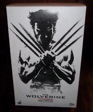 "hot toys 12"" 1/6 scale 2011 hugh jackman the wolverine movie figure sideshow"