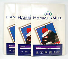 Hammermill 11x17 Ultra White Poster Triumph Ink Jet Gloss Paper 3 Pack 30 Sheets