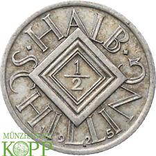 AA2770) Österreich 1/2 Schilling 1925 Erste Republik, 1918-1938