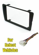 Double Din Car Install Kit Combo for select 2001 2002 2003 2004 2005 Honda Civic