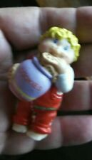 """1984 Cabbage Patch Mini Doll Pvc Figure 2-1/2"""" boy cookie frog"""