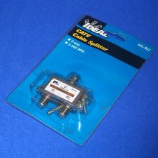 IDEAL 5-900 MHz 2-WAY CATV CABLE SPLITTER, 85-032 *NEW* *PZB*